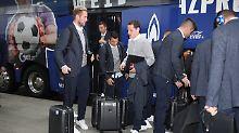Der feine Zwirn bedeutet: Champions League.