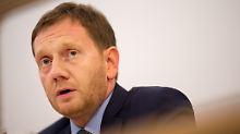 """""""Zuerst das Land ..."""": Kretschmer kritisiert Seehofer"""