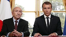 Politischer Rückschlag: Macron akzeptiert Innenminister-Rücktritt