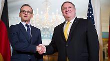 Bündnispartner mit Differenzen: Maas bietet USA Hilfe in Syrien an