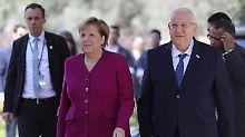 Nuklearstreit mit Iran: Israel bittet um Hilfe, Merkel zeigt Verständnis