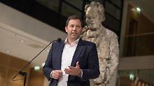Koalitionspläne mit AfD: Klingbeil: CDU muss sich abgrenzen