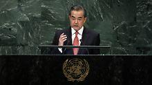 """""""Unbegründet"""" und """"lächerlich"""": China verbittet sich US-Beschuldigungen"""