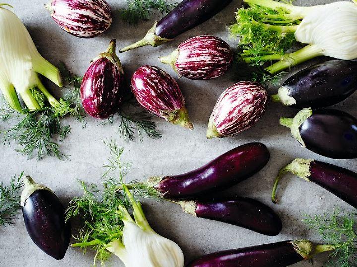 Gemüse spielt bei jüdischen Gerichten eine herausragende Rolle, vor allem Auberginen.
