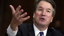 Senat für finale Abstimmung: Kavanaugh nimmt wichtige Hürde