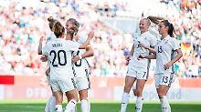 Der Sport-Tag: DFB-Frauen meistern ersten WM-Test