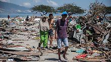 Tsunami verwüstet Indonesien: Tausende Menschen werden noch vermisst
