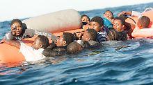 Fast 1800 Tote im Mittelmeer: Jeder fünfte Flüchtling ertrinkt