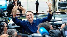 Überraschung in Brasilien: Populist Bolsonaro verpasst Wahlsieg knapp
