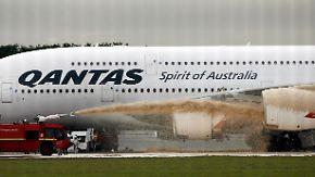 A380-Panne wird teuer: Qantas klagt gegen RollsRoyce