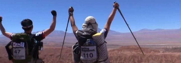 250 Kilometer durch die Atacama-Wüste: Extremläufer messen sich an trockenstem Ort der Welt