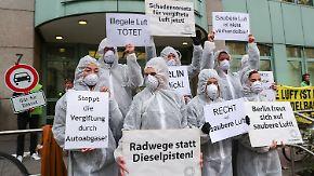 Fahrverbot in der Hauptstadt?: Berlin will sogar Euro-6-Diesel aus der Innenstadt verbannen