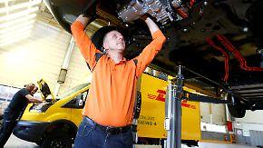 Dieselkrise als Chance: DHL und Ford bauen E-Scooter im XL-Format