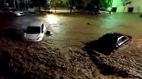 Vier Tote nach heftigen Regenfällen: Wassermassen reißen auf Mallorca Autos mit