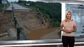 n-tv Netzreporterin: Erste Eindrücke von schweren Überflutungen auf #Mallorca