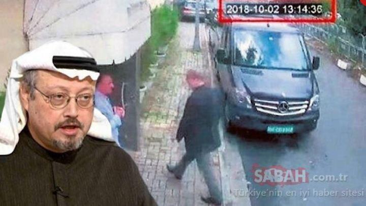 """Die Tageszeitung """"Sabah"""" verbreitet Bilder Khashoggis beim Betreten der Botschaft."""