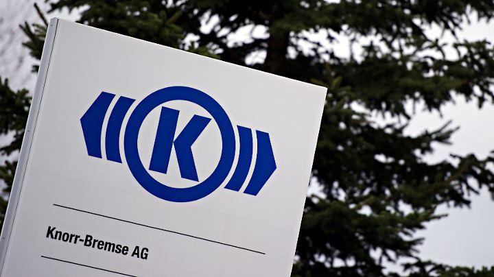 Knorr-Bremse stellt unter anderem Bremsen für Züge und Lkw her.