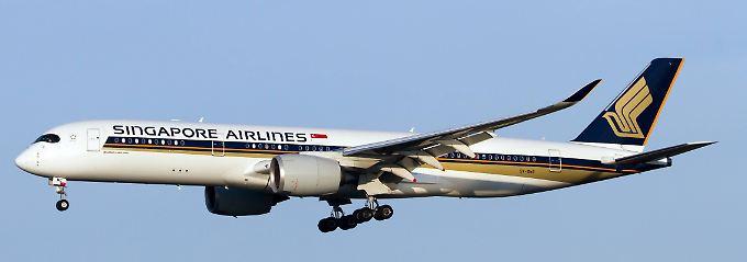 Singapore Airlines konzipierte die Maschine speziell für den Superlangstreckenflug.