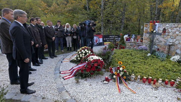 Schon vor fünf Jahren erinnerte man an der Gedenkstätte an Haider.