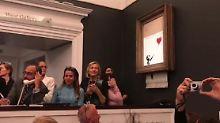 Aus Alt mach Neu: Bieterin behält geschreddertes Banksy-Bild
