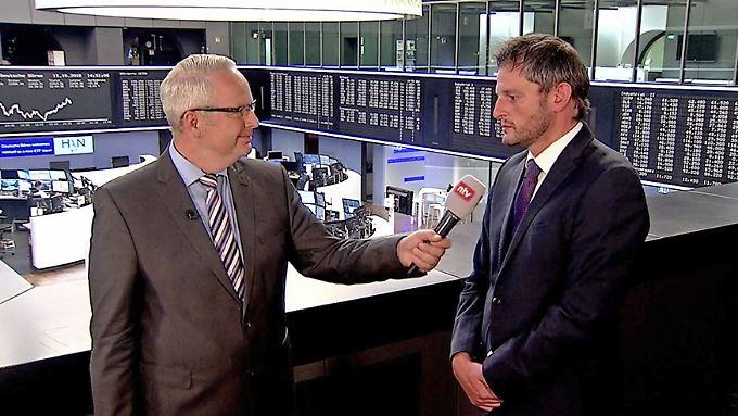 """Frank Meyer spricht mit Martin Utschneider: """"Wenn Amerika Schnupfen hat, haben wir Grippe"""""""