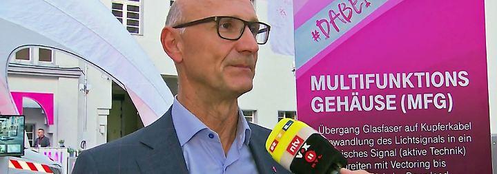 """Telekom-Chef Höttges zum Netzausbauplan: """"Wir wollen jedes Funkloch in Deutschland jagen"""""""