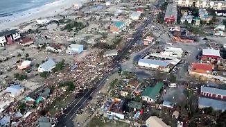 """""""In Panama City ist nichts mehr"""": Hurrikan """"Michael"""" tötet und zerstört in Florida"""