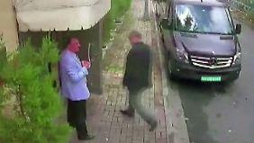 Mord im Konsulat, Türkei in Bedrängnis: Video soll Folter und Tötung Khashoggis zeigen
