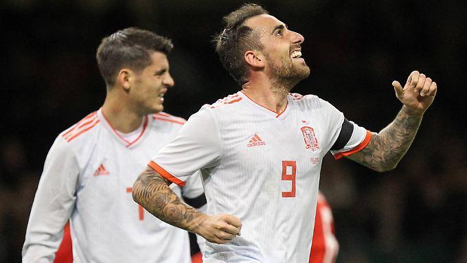 Paco Alcácer ist zurück in der spanischen Nationalmannschaft - und wie.