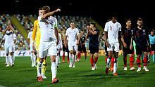 Leere Ränge in Rijeka: England und Kroatien trennen sich torlos