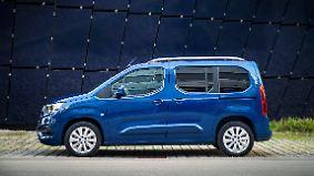 Raumwunder mit luxuriösen Details: Opel Combo will Handwerker und Familien glücklich machen