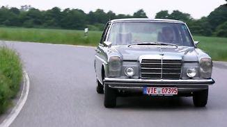 Klare Linienführung statt Heckflosse: Mercedes Strich-Acht startete vor 50 Jahren kleine Revolution