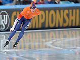 Der Sport-Tag: Niederländer pulverisieren Eisschnelllauf-Rekorde