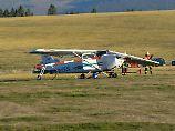 Cessna stürzt in Menschenmenge: Drei Tote bei Flugzeugabsturz in Hessen