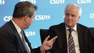 Wahldebakel mit Ansage: CSU schiebt Schuld- und Personalfrage auf