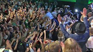 Erfolgswelle nicht nur in Bayern: Grüne Euphorie trägt neue Gesichter auf Händen