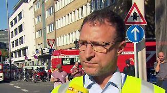 """Polizeisprecher zur Geiselnahme in Köln: """"Wir haben Kontakt zu dem Angreifer"""""""