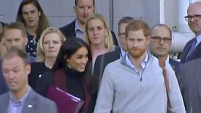 Royales Traumpaar auf Reisen: Prinz Harry und Meghan bekommen Nachwuchs