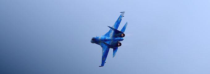 Nato simuliert Luftkämpfe: Zwei Piloten sterben bei Übung in Ukraine