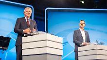 TV-Duell vor der Wahl in Hessen: Kandidaten lassen die Säbel stecken