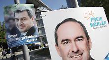 Neues Bündnis in München: CSU strebt Koalition mit Freien Wählern an