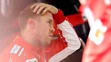 Der Sport-Tag: F1-Star Vettel verliert Glauben an WM-Wunder