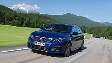 Einer der empfohlenen Diesel ist der Peugeot 308 SW Blue HDi 100.