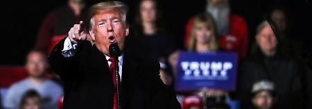 """""""Das wird ihm helfen"""": Trump lobt Attacke auf """"Guardian""""-Reporter"""