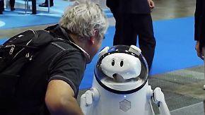 Arbeitskräfte für eine überaltete Gesellschaft: Diese Roboter sollen das Leben leichter machen