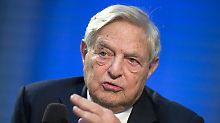 US-Investor wird zur Zielscheibe: Sprengsatz nahe Soros' Anwesen gefunden