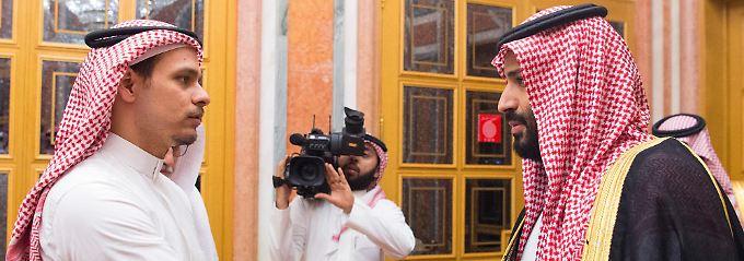 Trotz ungeklärter Todesumstände: Königshaus empfängt Khashoggis Familie