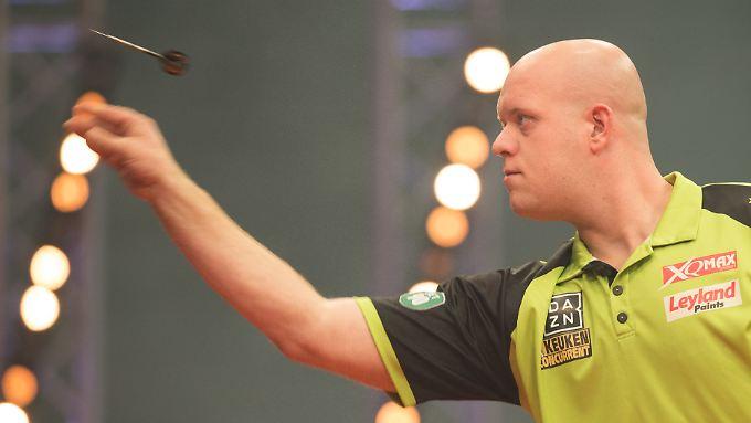 Michael van Gerwen will seinen Titel verteidigen.