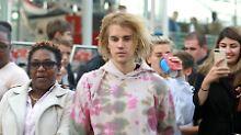 Lecken. Lutschen. Beißen.: Justin Bieber versucht sich am Burrito