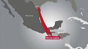 Angebot an Flüchtlings-Karawane: Mexiko knüpft Schutz an Bedingungen